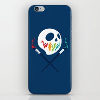 pirates iPhone & iPod Skins featuring Art Pirates by Steven Toang