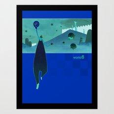 world8 Art Print