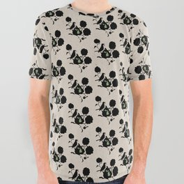 Michigan - State Papercut Print All Over Graphic Tee