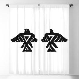 Native American Thunderbird Flag Blackout Curtain