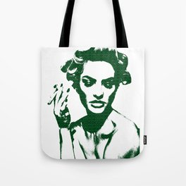 Smoke: Candice Swanepoel Tote Bag