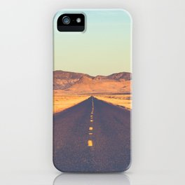 Lost Highway II iPhone Case