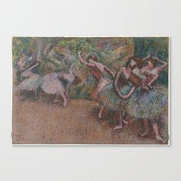 Edgar Degas - Ballet Scene Canvas Print