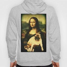 Mona Lisa Pug Hoody