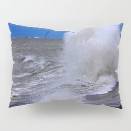 When Sandy Made Waves in Chicago #7 (Chicago Waves Collection) Pillow Sham