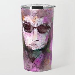Bob Dylan poet Travel Mug