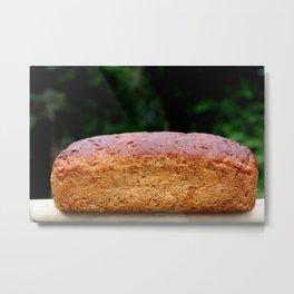 oatmeal bread Metal Print