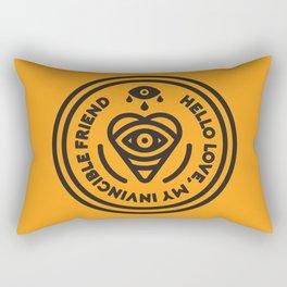 Hello Love Rectangular Pillow