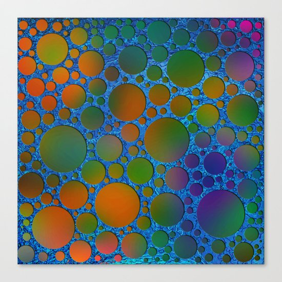 Pattern/Polka dots/6 Canvas Print