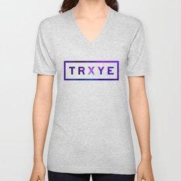 TRXYE Unisex V-Neck