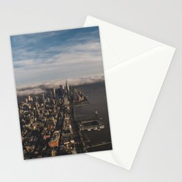 Flying High above NYC Stationery Cards