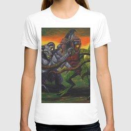 Clash of the Demon Princes T-shirt