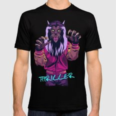 THRILLER - Werewolf Version Mens Fitted Tee LARGE Black