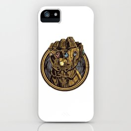 Infinity War Hand 3D Thanos iPhone Case