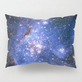 Blue Embrionic Stars Pillow Sham