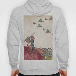 Ancient battle (collage) Hoody