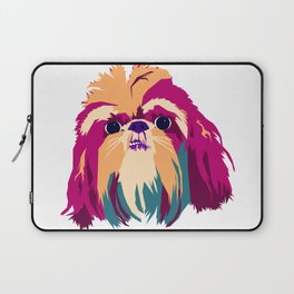 Shih Tzu Face Laptop Sleeve