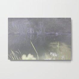 Heavenly Pond Meditation Metal Print