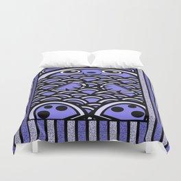 Blue Bear Duvet Cover