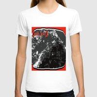 castle T-shirts featuring castle by ASZIP JAPAN