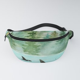 Pinetrees and Orcas Fanny Pack