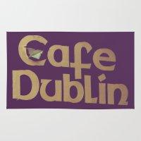 irish Area & Throw Rugs featuring Irish Pub by Eirin Wie Haveland