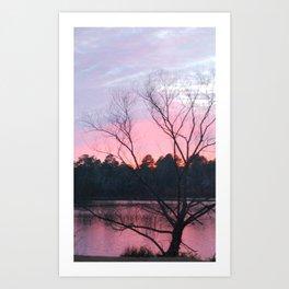 CAROLINA SUN SET Art Print