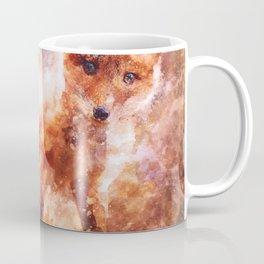 CUTE LITTLE BABY FOX CUB PUP Coffee Mug