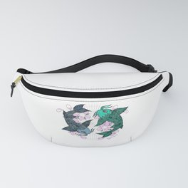 Koi fish Pisces Fanny Pack