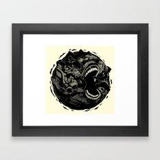 Planet Scream Framed Art Print