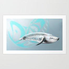 Whale Spirit Art Print