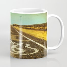 Route 66 Road Marker Coffee Mug