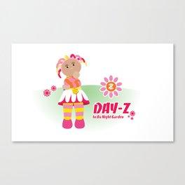 In Da Night Garden #1: Day-Z Canvas Print