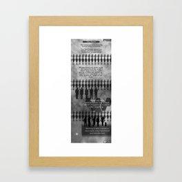 The Truth Framed Art Print