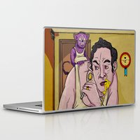 egg Laptop & iPad Skins featuring Egg by Lee Grace Illustration