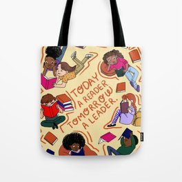 Today a reader Tote Bag