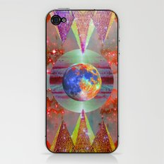 ☪elestial Pyramids iPhone & iPod Skin