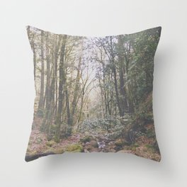 W h i l l d e r n e s s Throw Pillow