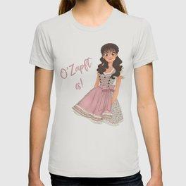 OKTOBERFEST Pink Dirndl Girl T-shirt