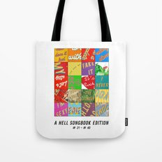 Hell Songbook Edition Complete # 21-40 Tote Bag