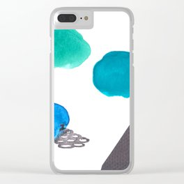 Watercolor I Clear iPhone Case