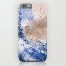 The Great Wave Inspired Abstract Painting iPhone Case