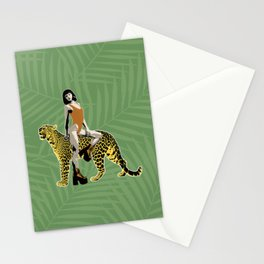 Queen of the Jungle Stationery Cards