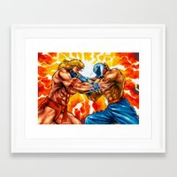 muscle Framed Art Prints featuring Muscle Bomber by VGPrints