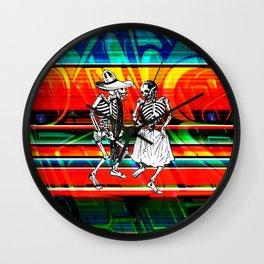 PastPresent Calaveras Wall Clock