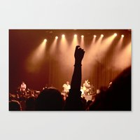 vampire weekend Canvas Prints featuring Vampire Weekend  by Anna Malafronte