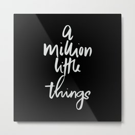 A million things (vertical) Metal Print