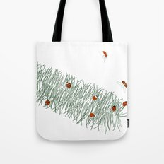 Feathergrass Tote Bag