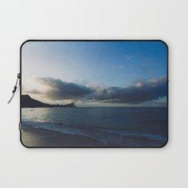 beach-morning 01 Laptop Sleeve