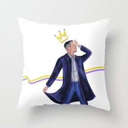 Prima donna Greg Throw Pillow